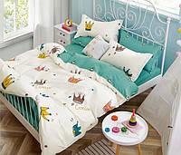 Комплект постельного белья полуторный Короны Kids Premium CottonTwill (сатин)