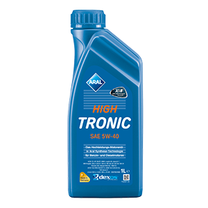 Моторное масло ARAL HIGHTRONIC 5W-40, 1л.