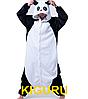 Мужская кигуруми панда кунгфу