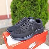 Чоловічі кросівки в стилі NIKE Air Max чорні, фото 2