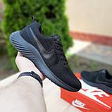 Чоловічі кросівки в стилі NIKE Air Max чорні, фото 3