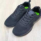 Чоловічі кросівки в стилі NIKE Air Max чорні, фото 6