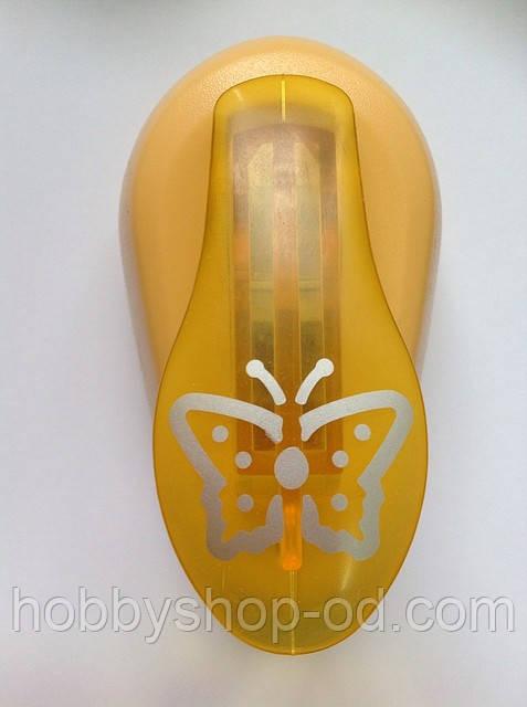 Дырокол фигурный Бабочка 3D рычаг 2,5 см