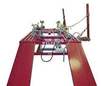 Подъемник для СТО, стапель платформенный для рихтовки автомобилей WPS-3, фото 1