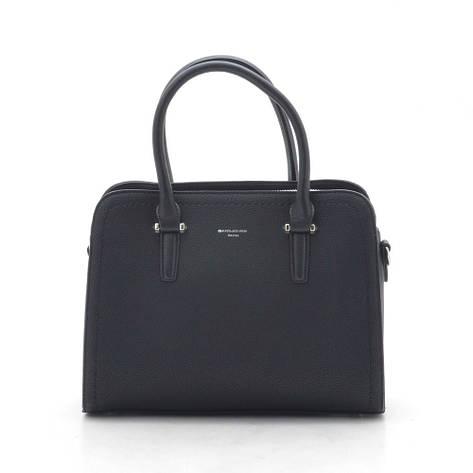 Жіноча сумка David Jones CM4013T чорна (чорний), фото 2