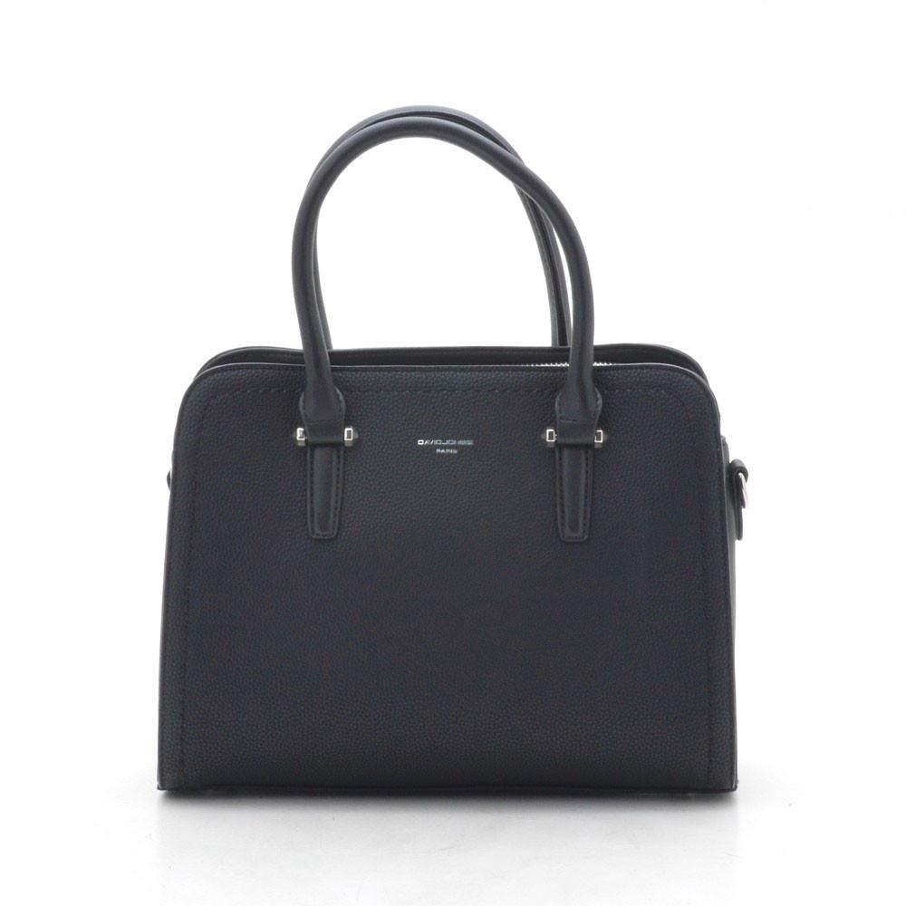 Жіноча сумка David Jones CM4013T чорна (чорний)