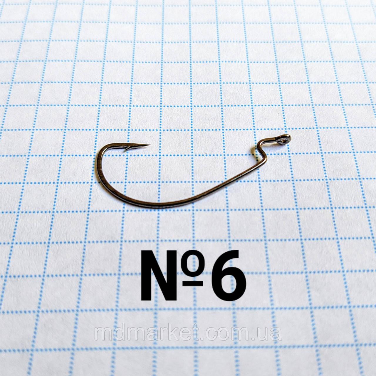 Офсетный крючок №6 Kumho (50шт.)