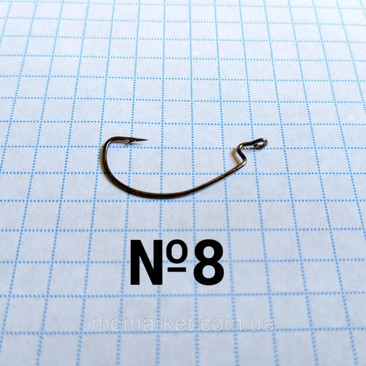 Офсетный крючок №8 Kumho (50шт.)