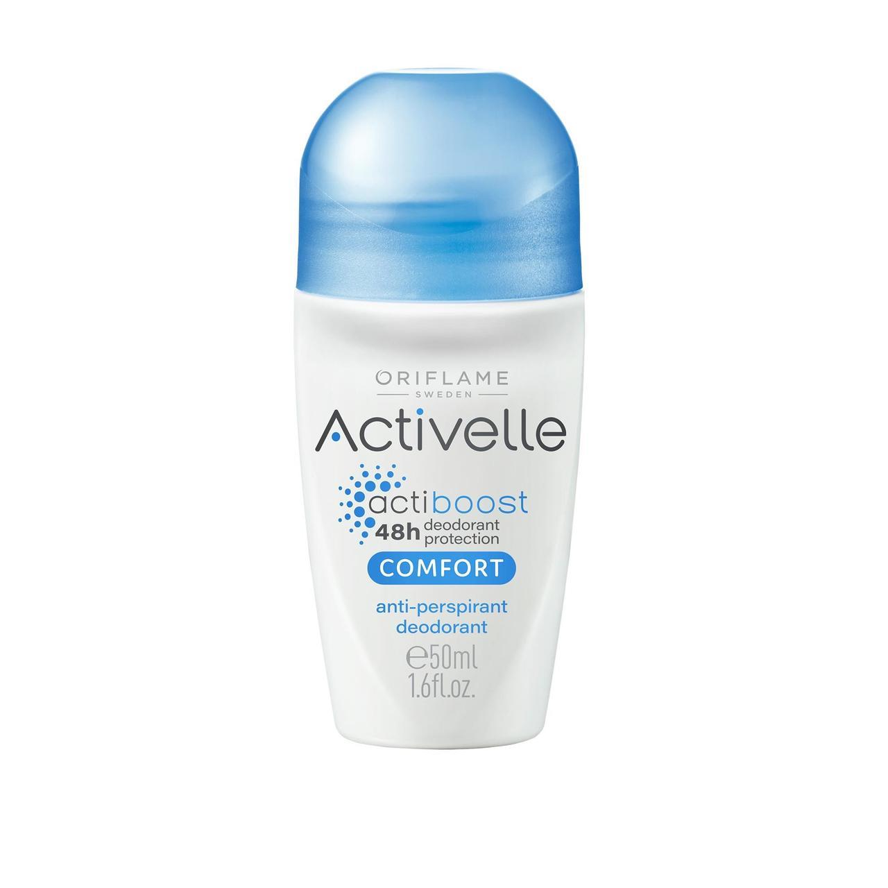 Шариковый дезодорант-антиперспирант Activelle Oriflame