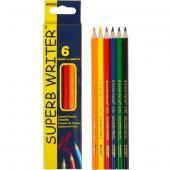 Карандаши цветные «Superb Writer»набор 6 цветов  4100 MARCO