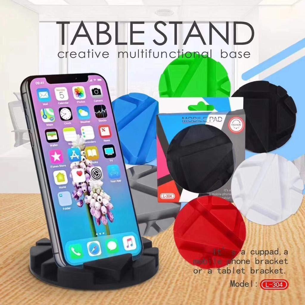 Подставка-держатель для телефона, планшета, кружки черная