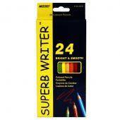 Карандаши цветные«Superb Writer» набор 24 цветов  4100 MARCO