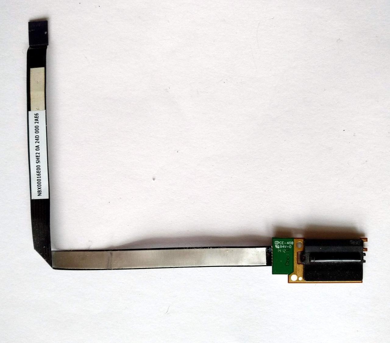 412 Сенсор отпечатков HP m6-1000 Pavilion Envy - PK09000BR00