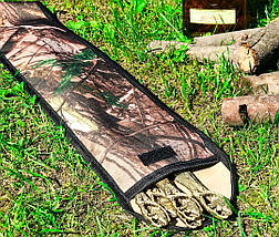 """Набір шампурів """"Дикий кабанчик"""" в чохлі з тканини, 6шт, фото 3"""