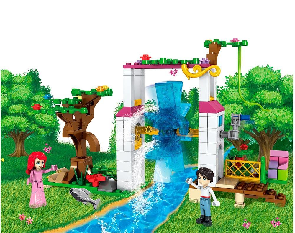 """Детский конструктор JVToy """"Сад для принцессы"""" (серия Принцессы)"""