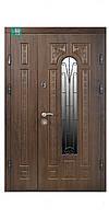 Двери входные ПО, ПК, ПВ-139 V Дуб темный Vinorit, 1200-левая наличие уточнять