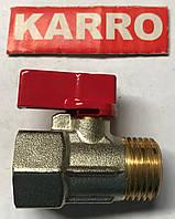 """Кран шаровый Karro Mini 1/2"""" НВ"""