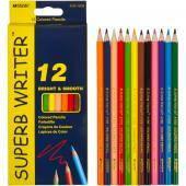 Карандаши цветные«Superb Writer» набор 12 цветов  4100 MARCO