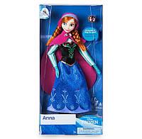 Кукла Анна Холодное сердце с кольцом для девочки Дисней Anna Frozen Classic Doll Disney оригинал
