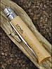 Нож Opinel (опинель) Inox Natural №8 VRI бук (000405) блистер, фото 4