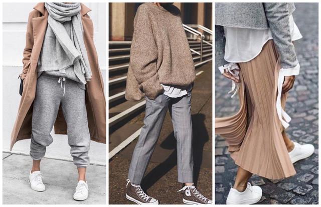бежевый и серый в одежде