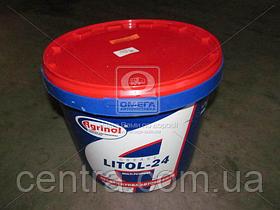 Смазка AZMOL Litol-24 GOST 17кг 48021126760