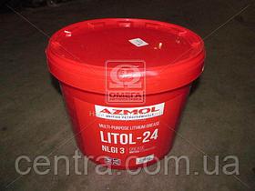 Смазка AZMOL Litol-24 GOST 9кг 48021126758