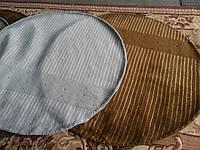 Круглые шерстяные ковры с банановым шелком, фото 1