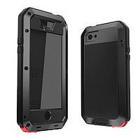 Противоударный чехол Lunatik Taktik Extreme для iPhone 7 Plus / 8 Plus Black лунатик на болтах 360'