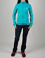 Женский спортивный костюм Adidas 7070 Бирюзовый