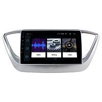 Штатная автомобильная магнитола 9 Hyundai Accent 2017г. GPS навигация IGO Android (4353-12702)