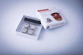 Камни кубики для виски металл набор 4 шт BST 720004