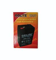 Аккумулятор батарея GDLITE 6V 4.0Ah GD-640, фото 2