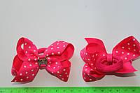 Бантики цветные в горошек, фото 1
