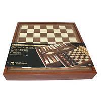 Шахматы+Нарды+Шашки, 3 в 1 550072 40х40 см