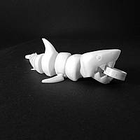 """Гибкая детская развивающая игрушка """"Акула"""""""
