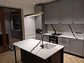 Стільниця, мийка, фартух острів з кварцового каменю АВАНТ 7300