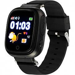 Детские умные часы с GPS трекером Gelius Pro GP-PK003 Black (28495)