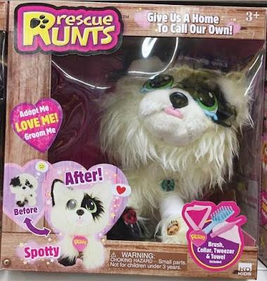 Мягкие игрушки питомцы-потеряшки Rescue Runts