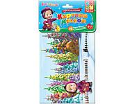 """Детский набор для творчества  с мягкими наклейками """"Картина маслом"""" VT4206-13 Vladi Toys(укр) ."""