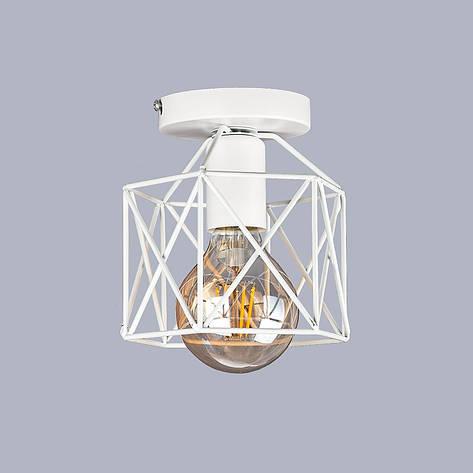 Потолочный белый светильник, фото 2