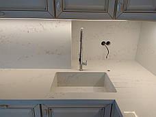 Стільниця, мийка, фартух, стіл з кварцового каменю Vicostone BQ8628, фото 3