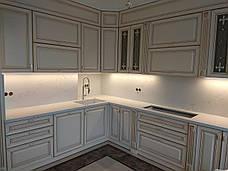Стільниця, мийка, фартух, стіл з кварцового каменю Vicostone BQ8628, фото 2