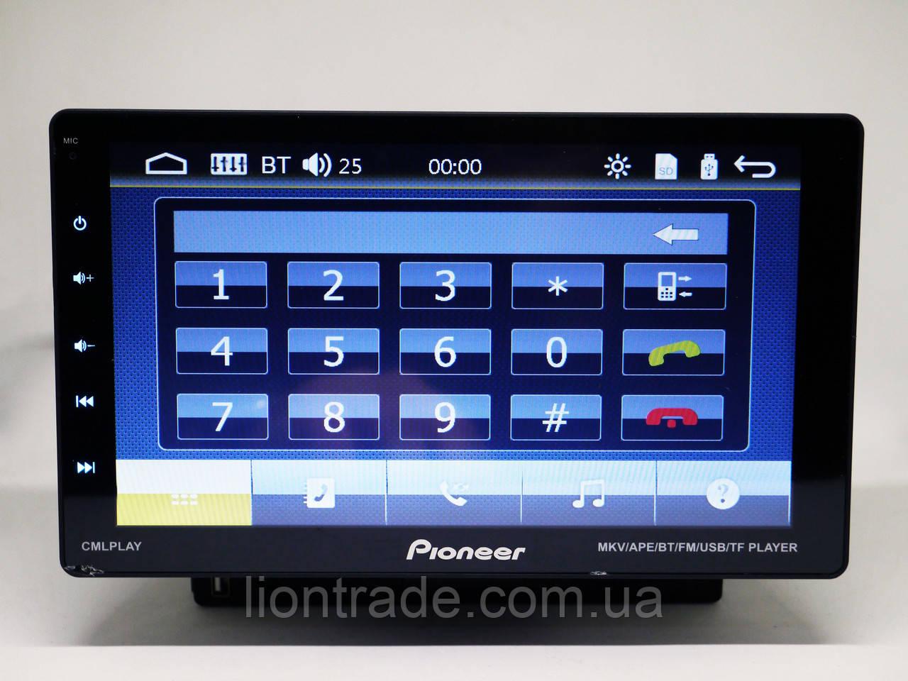 "1din Магнитола Pioneer 9010 - 9"" Съемный экран + USB + Bluetooth"