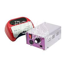 Набор лампа CCFL+LED Professional 48W + фрезер Lina Mercedes 25 000 об/мин