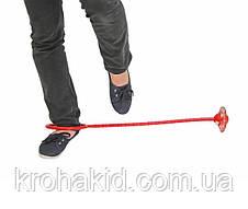 Светящаяся скакалка на одну ногу / нейро скакалка, фото 3