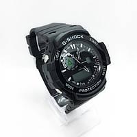 Часы мужские спортивные водостойкие G-SHOCK Casio (Касио), цвет черный ( код: IBW361B2 )