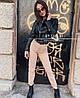 Женские джинсовые брюки прямые коттон (42-46)