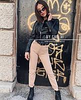 Женские джинсовые брюки прямые коттон (42-46), фото 1