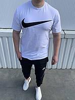 Чоловічий костюм Nike:футболка,штани (З-ХХЛ), фото 1